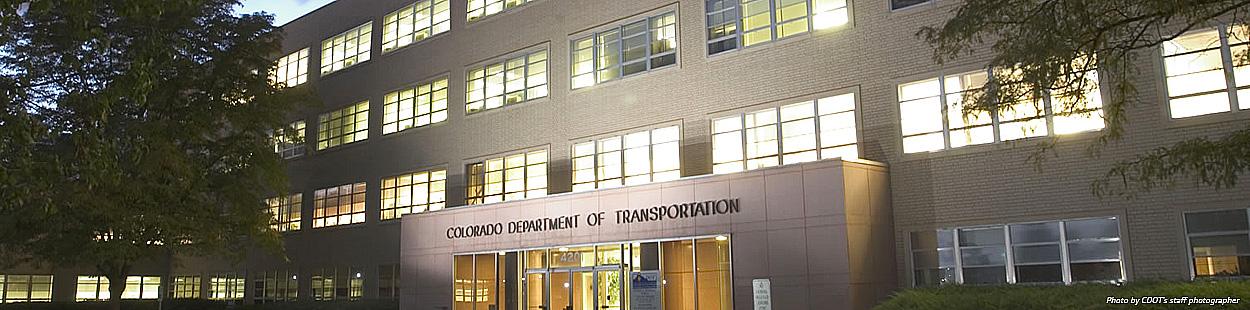 CDOT's HQ Building in Denver